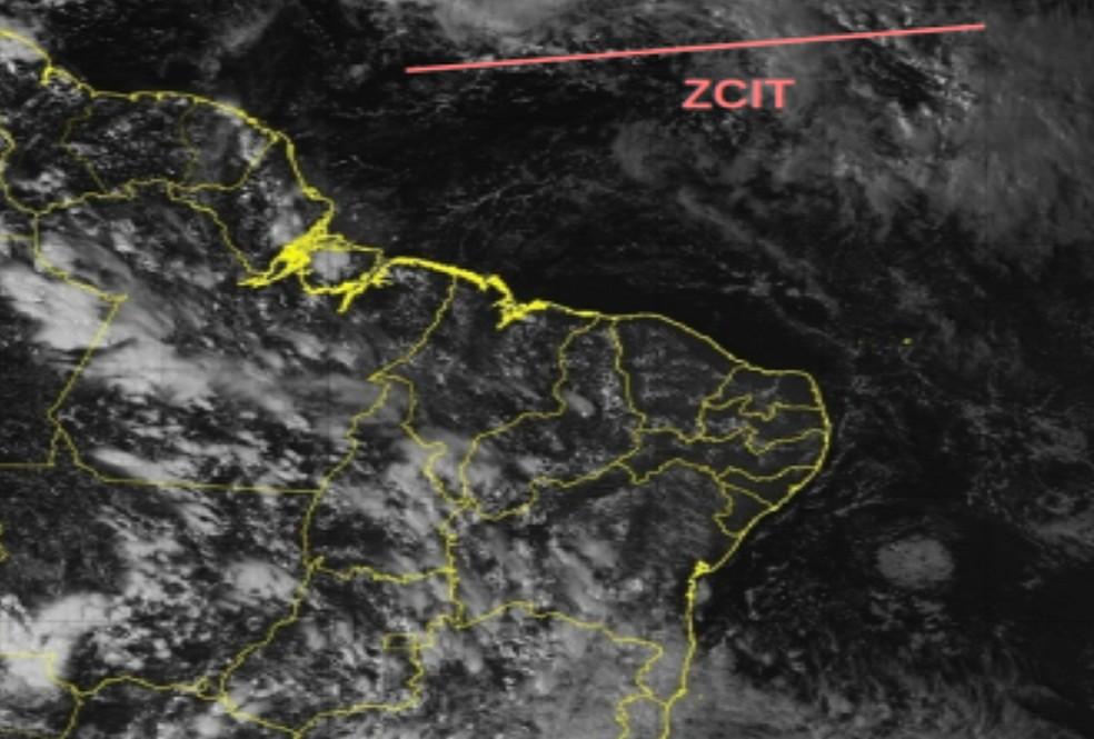 As chuvas registradas nos últimos dias, assim como nas primeiras horas desta segunda, estão associadas a sistemas frontais, já em fase final, vindos da região Sudeste. — Foto: INMET