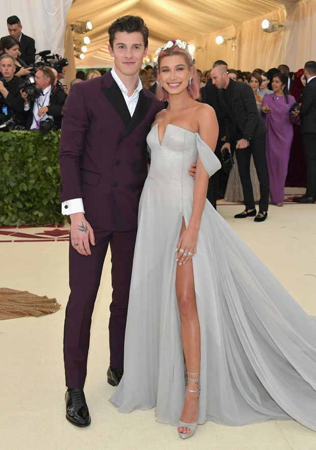 Shawn Mendes e Hailey Baldwin (Foto: Getty Images)