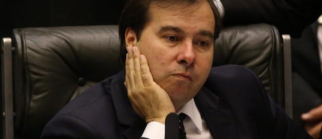 O presidente da Câmara, Rodrigo Maia (Foto: Ailton de Freitas)