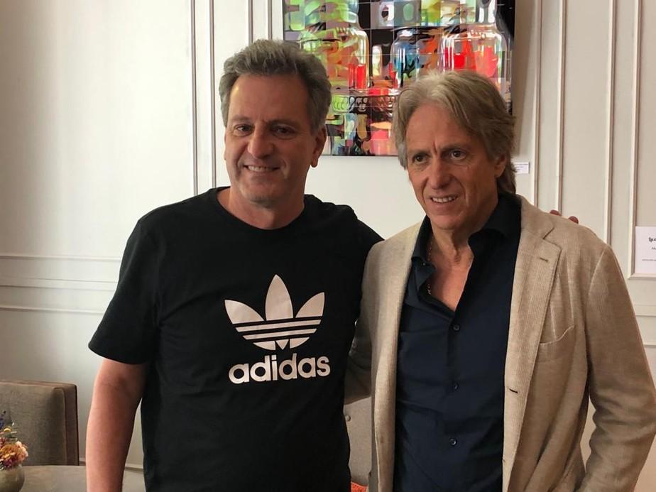 Rodolfo Landim fecha acordo, e Jorge Jesus é o novo técnico do Flamengo