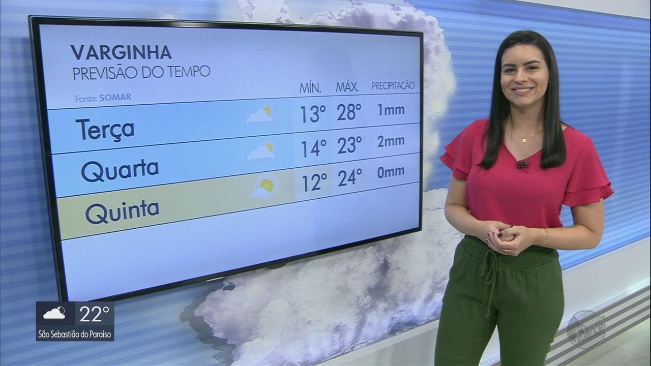 Confira a previsão do tempo para esta semana no Sul de Minas