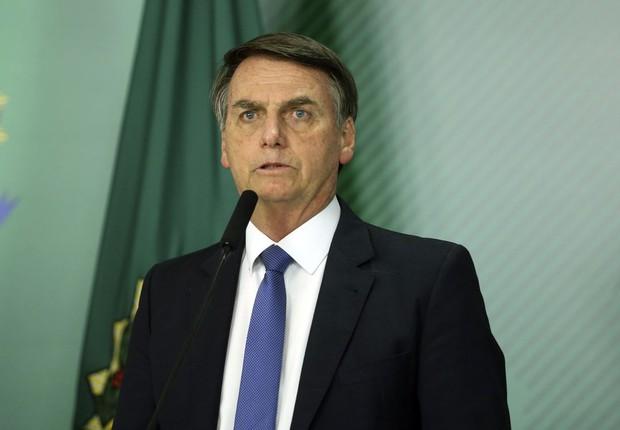 O presidente Jair Bolsonaro (Foto: Valter Campanato/Agência Brasil )