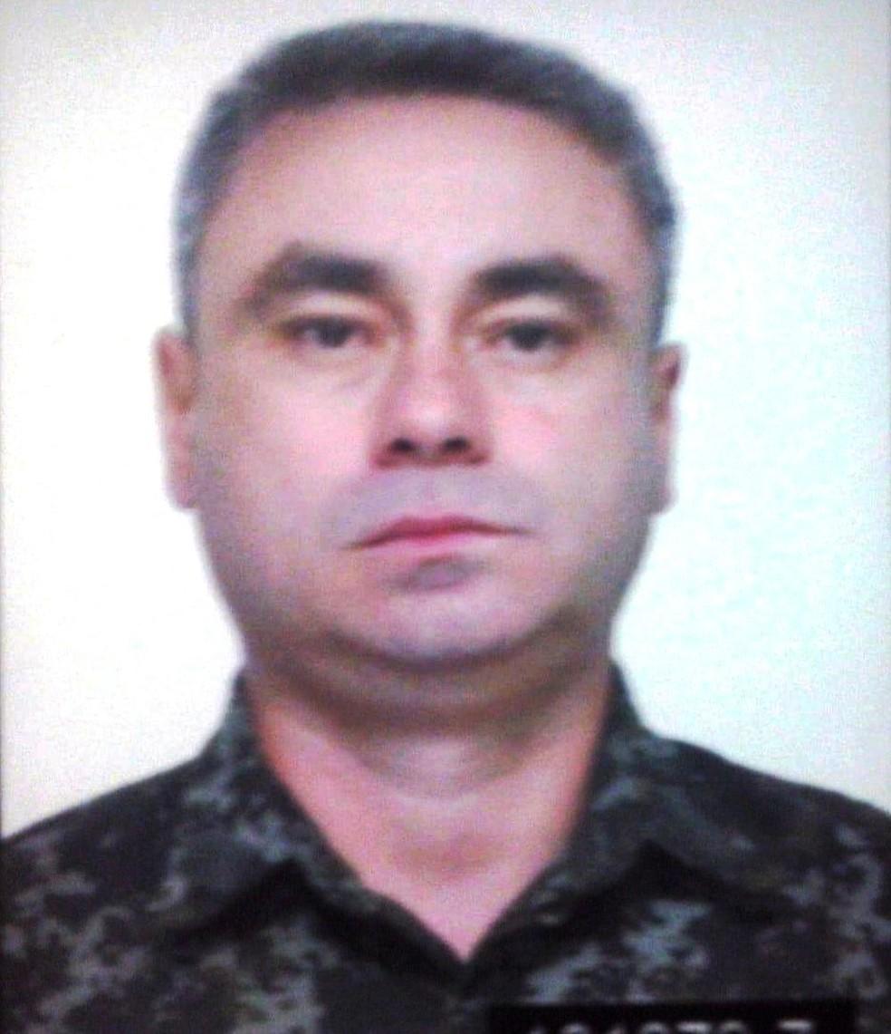 Cabo Oliveira trabalhava na 2ªCia da Polícia Militar Ambiental, em Registro, SP — Foto: G1 Santos