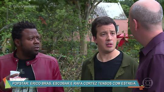 Alex Escobar, Érico Brás e Rafael Cortez comentam ansiedade para estreia do 'PopStar'