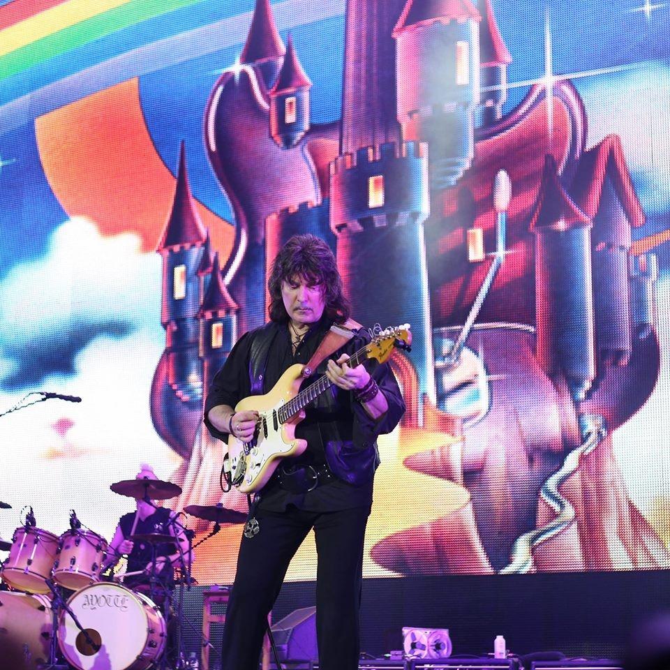 O guitarrista inglês Ritchie Blackmore