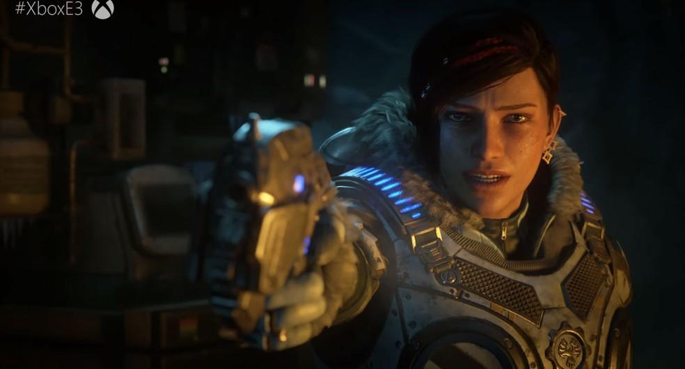 'Gears of War 5' é confirmado pela Microsoft na E3 2018 (Foto: Reprodução)