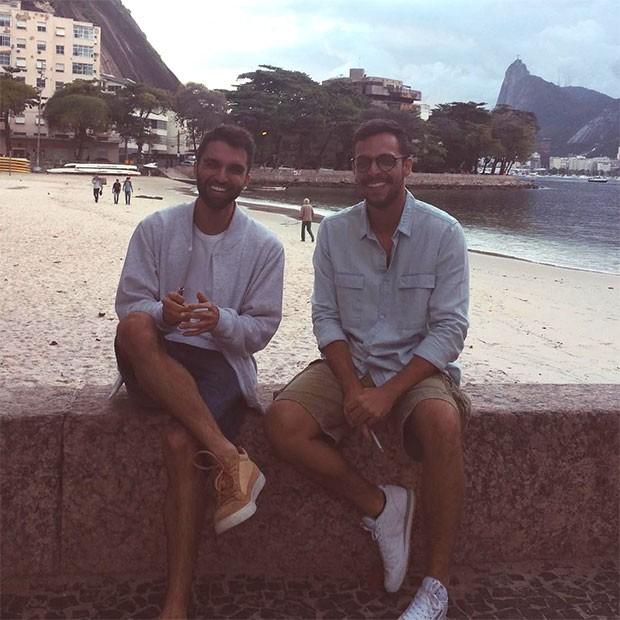 Silva e Fernando Sotele (Foto: Arquivo pessoal)