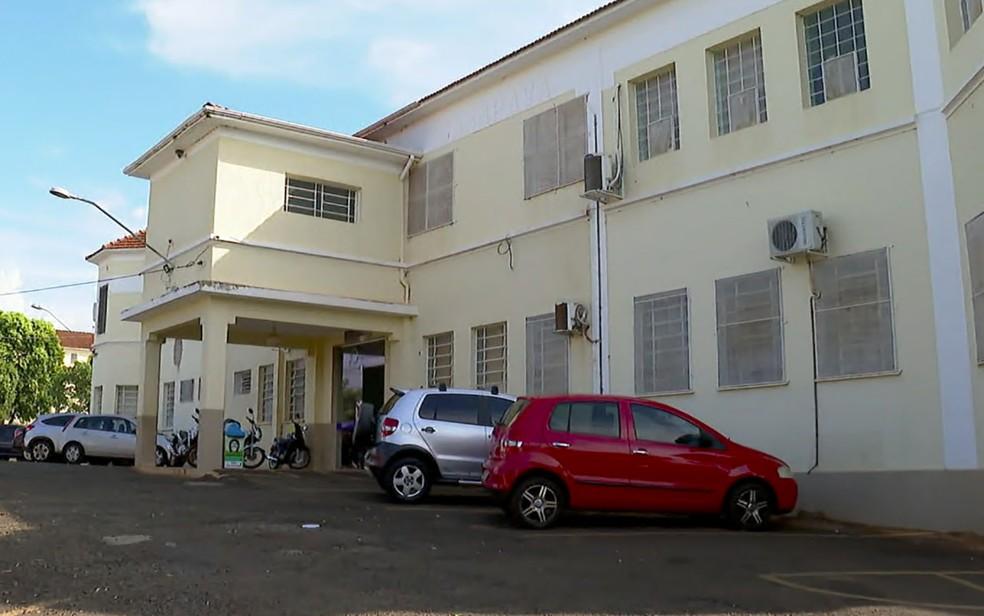 Santa Casa de Igarapava, SP — Foto: Jefferson Severiano Neves/EPTV