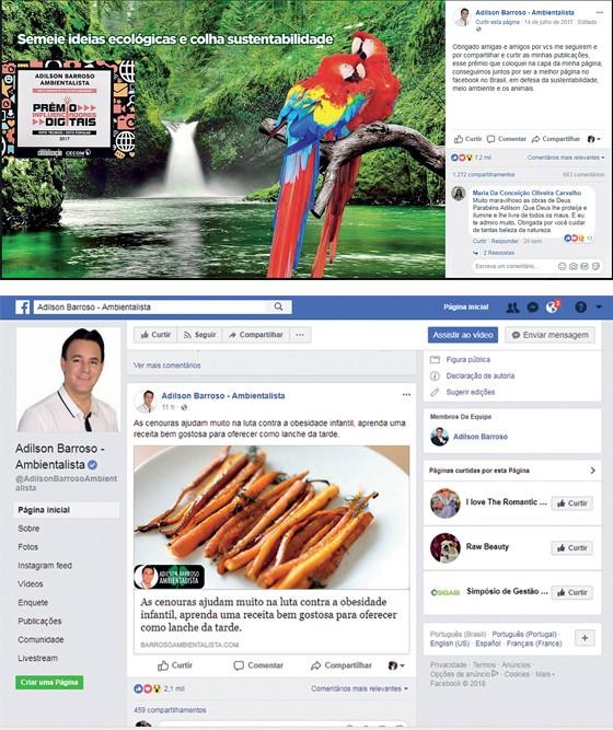 REI DAS CURTIDAS Vereador eleito com menos de 500 votos, ele acumula milhões de seguidores nas redes sociais; usa o artifício de pagar para impulsionar a leitura de suas postagens (Foto: Reprodução)