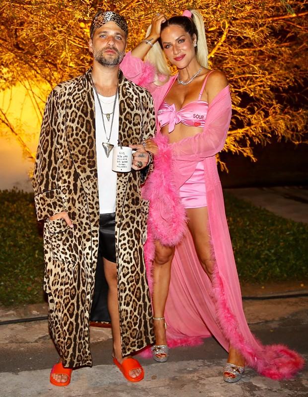 Bruno Gagliasso e Giovanna Ewbank (Foto: Brazil News)