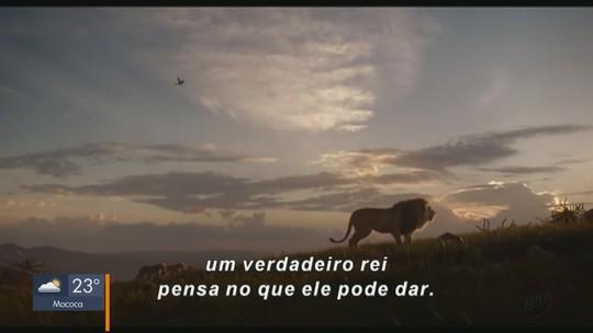 """Em Cena: """"O Rei Leão"""" chega aos cinemas da região"""