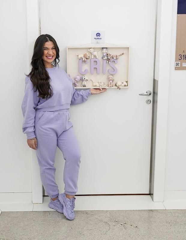 Bianca Andrade mostra detalhes de maternidade (Foto: Thalita Castanha )