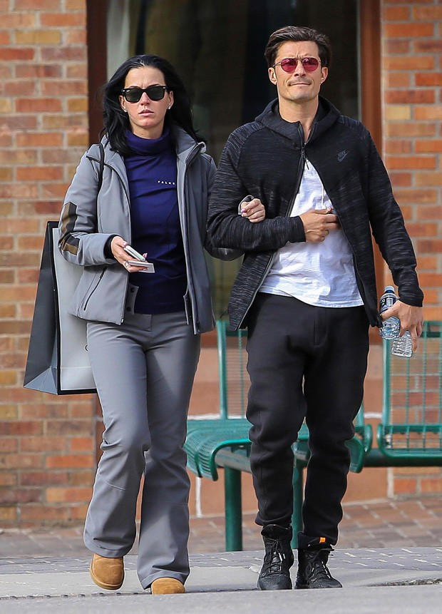 Katy Perry e Orlando Bloom (Foto: The Grosby Group)