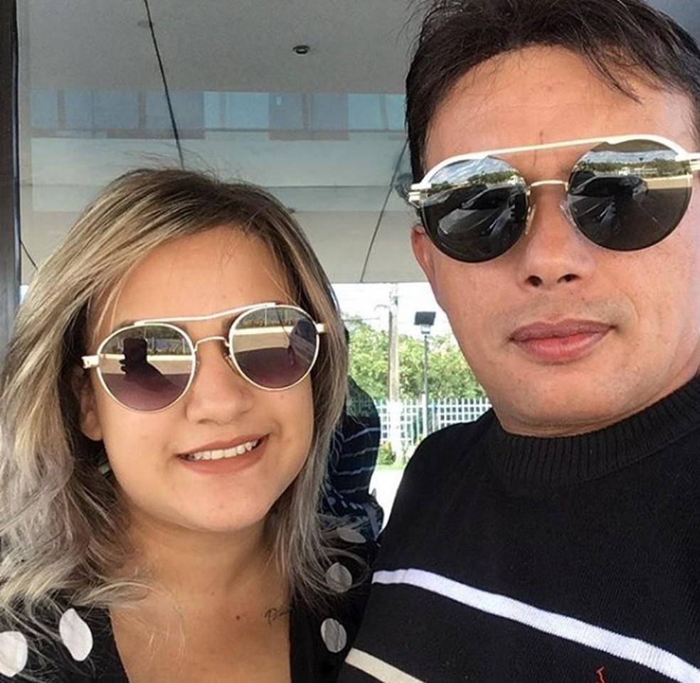 Paulynho Paixão e Tayanne Costa — Foto: Arquivo Pessoal