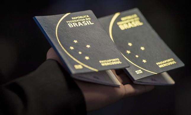O passaporte brasileiro