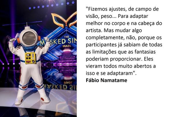 Fábio explica os ajustes feitos (Foto: Globo)