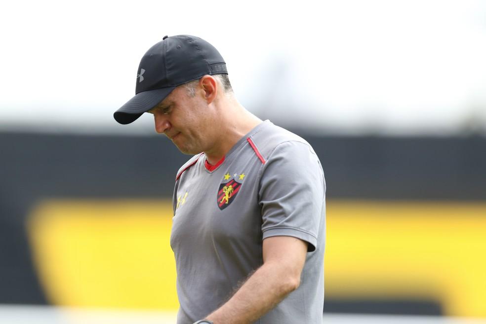 Eduardo Baptista deixa o Sport após sua segunda passagem â?? Foto: Aldo Carneiro/ Pernambuco Press
