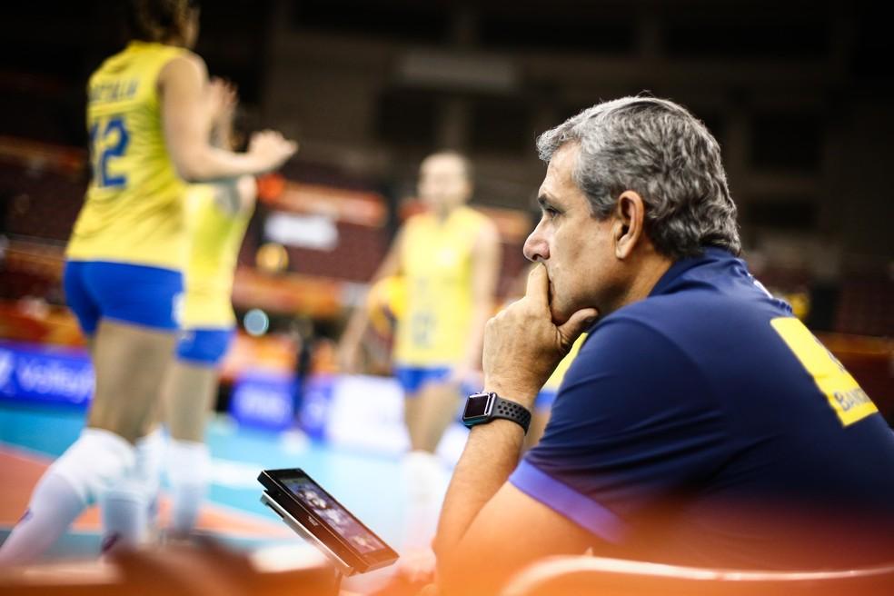 Zé Roberto terá trabalho pela frente — Foto: Divulgação/FIVB