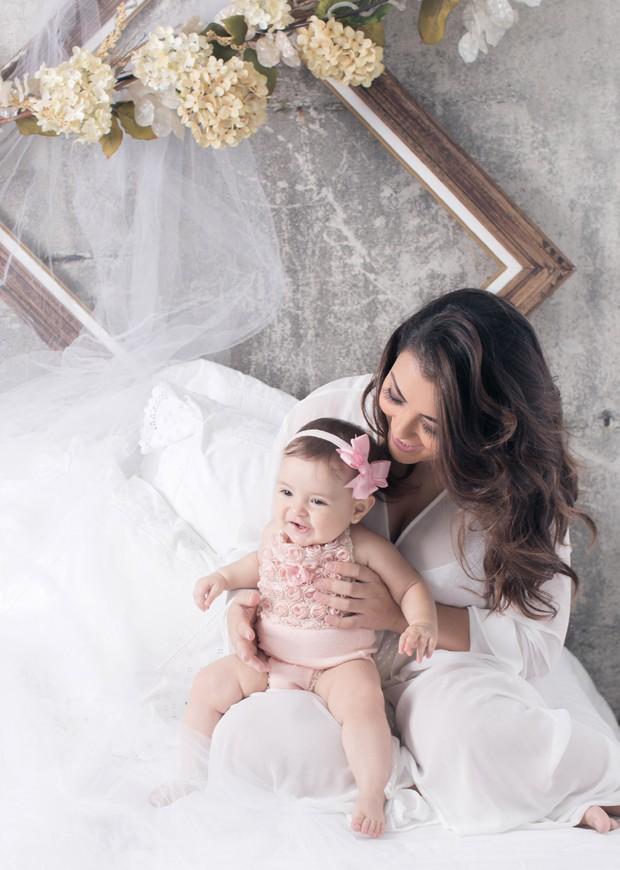 Li Martins e sua filha, Antonella (Foto: Dri Bresciani/Divulgação)