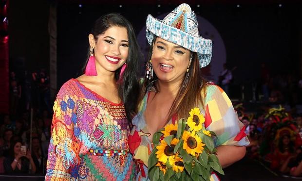 Thaynara OG e Preta Gil (Foto: Denilson Santos e Dilson Silva/AgNews)