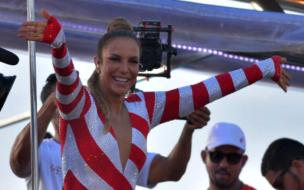 Cantora anunciou nesta terça-feira que está grávida (Foto: Max Haack/Ag Haack)
