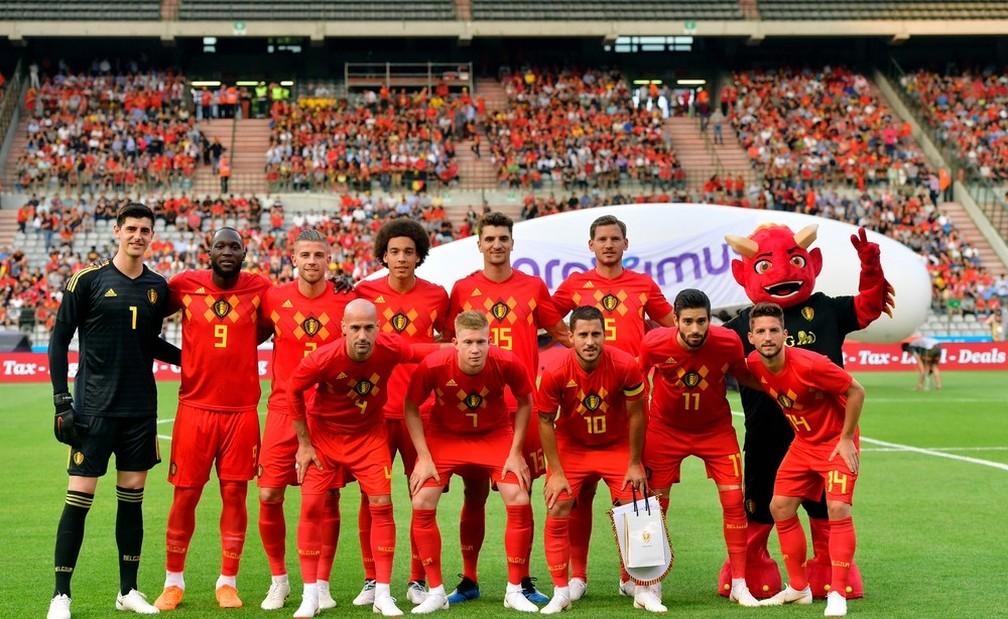 Seleção da Bélgica estreia hoje (Foto: Divulgação)