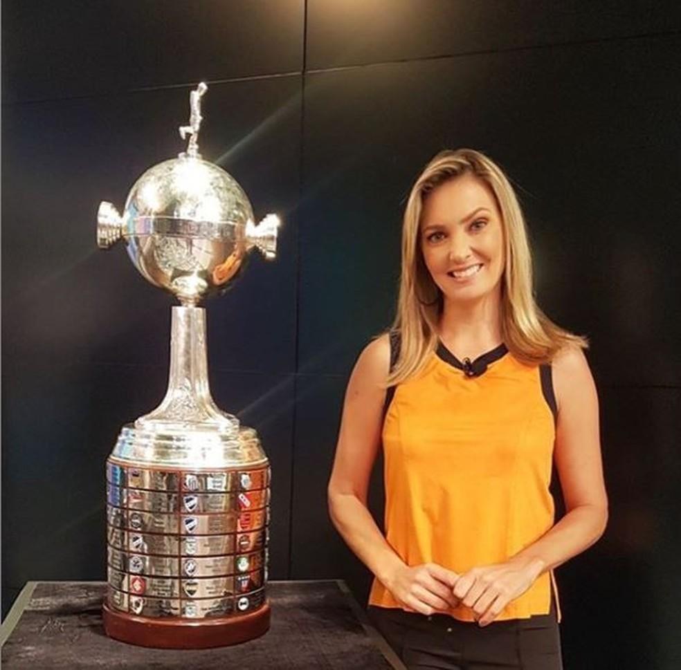 Nadine Bastos, nova integrante da Central do Apito da Globo — Foto: Reprodução / redes sociais