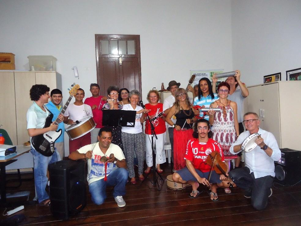 """Bando Fabião encerra o """"Rabeca Nordestina"""" (Foto: Divulgação )"""
