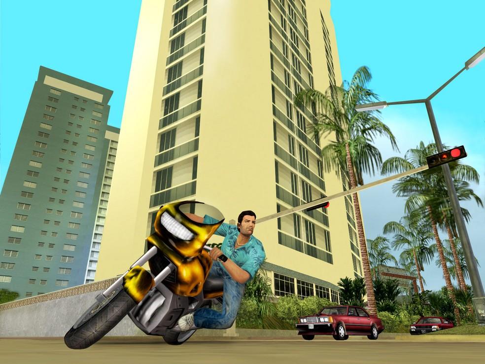 GTA VIce CIty expandiu o universo — Foto: Divulgação/Rockstar Games