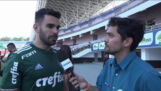 Bruno Henrique avalia desempenho do Palmeiras na América Central