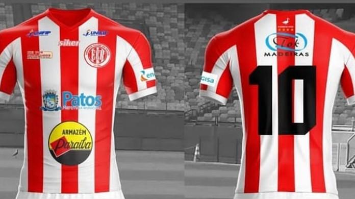 Esporte de Patos exibe a camisa que vai usar na temporada 2019 ... 1fd69d1b7fd10