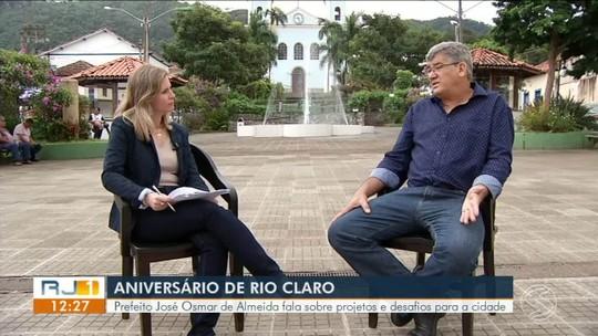 Prefeito de Rio Claro fala sobre projetos e desafios para a cidade - Parte 1