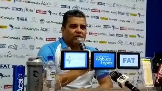 Com Patrick no time, Cabo confirma escalação do CSA para enfrentar o Inter; confira