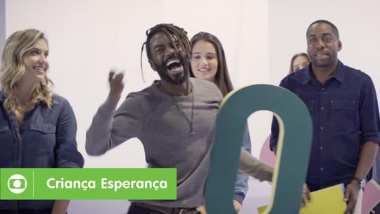 Veja o making of da campanha Criança Esperança 2018