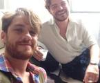 Leonardo Miggiorin e Matheus Nachtergaele  | Arquivo pessoal