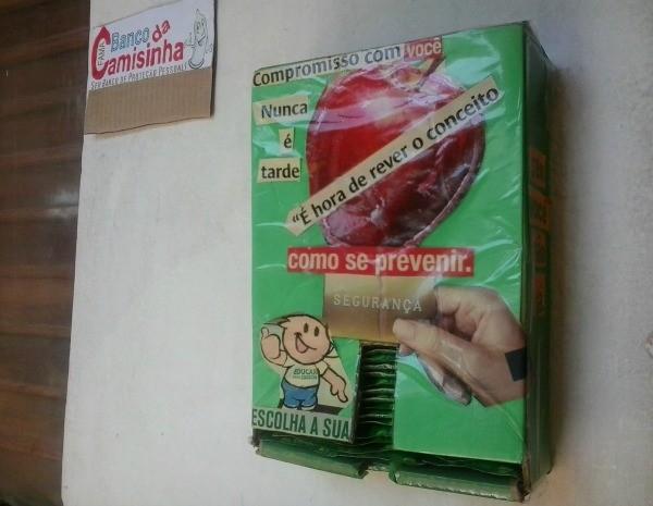Brazil's condom dispensers