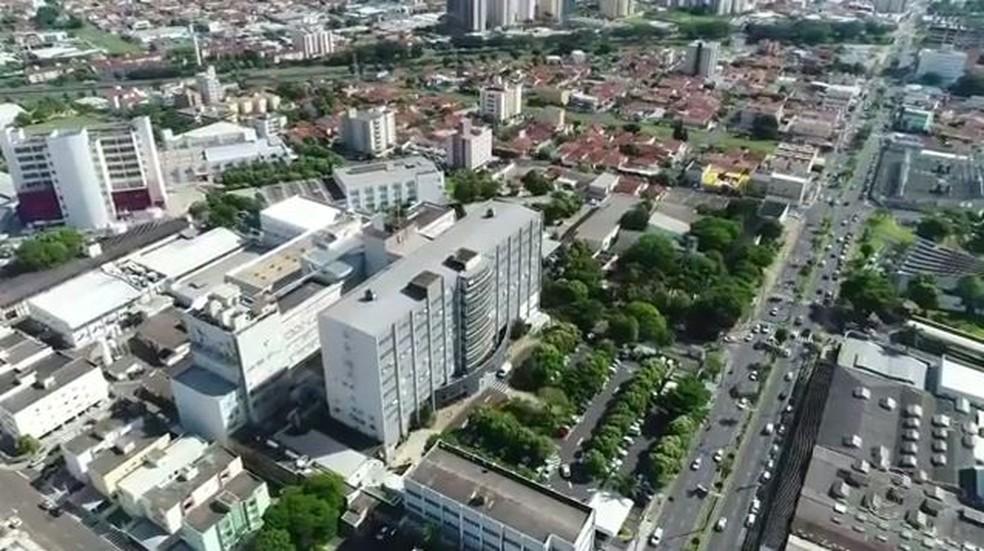 Hospital de Base de Rio Preto é referência em transplante de órgãos (Foto: Reprodução/TV TEM)