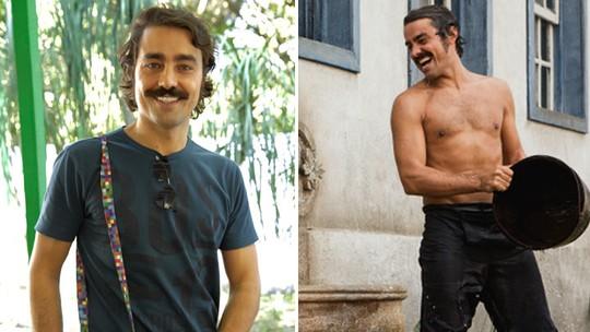 Ricardo Pereira mostra marmita fit nos bastidores de 'Liberdade' e dá dicas de boa alimentação