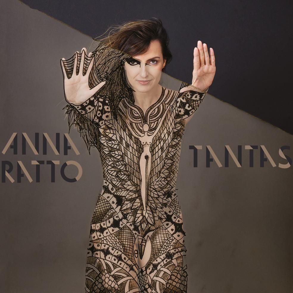 Capa do álbum 'Tantas', de Anna Ratto (Foto: Nana Moraes)