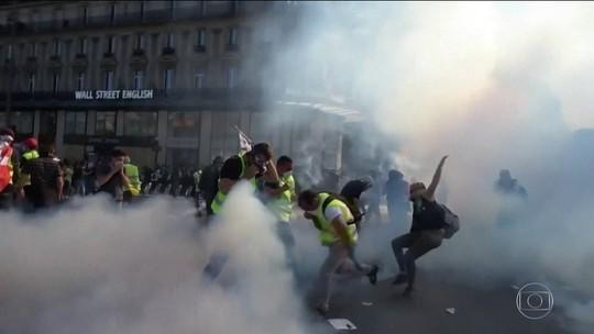 'Coletes amarelos' fazem o 23º protesto seguido na França
