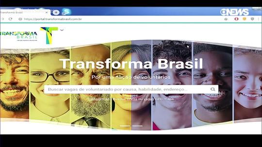 Plataforma digital vai buscar ongs e voluntários de todo o Brasil