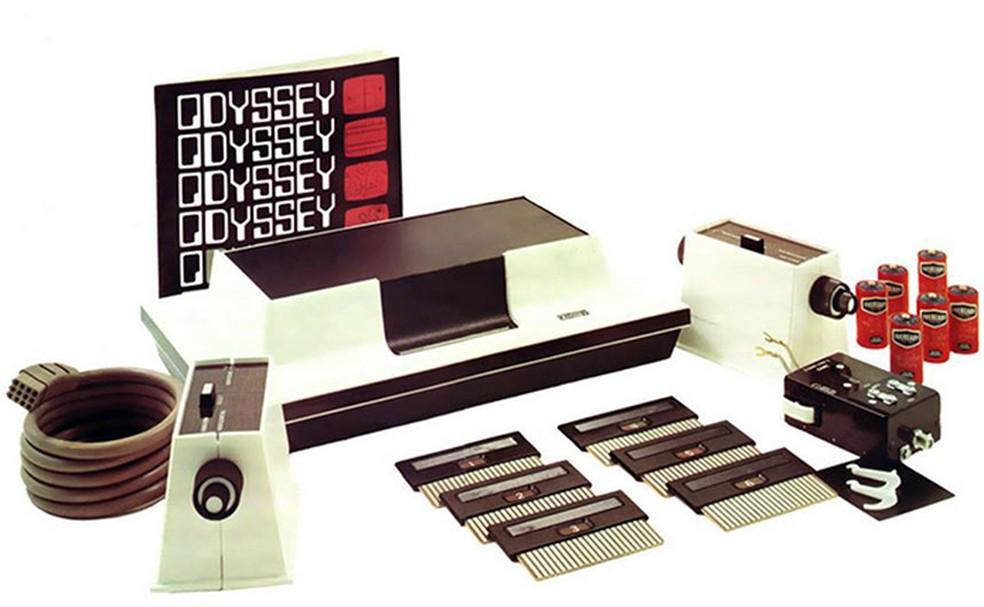 Odyssey foi o primeiro videogame a ser lançado no mercado (Foto: Divulgação/Museu do Videogame Itinerante)