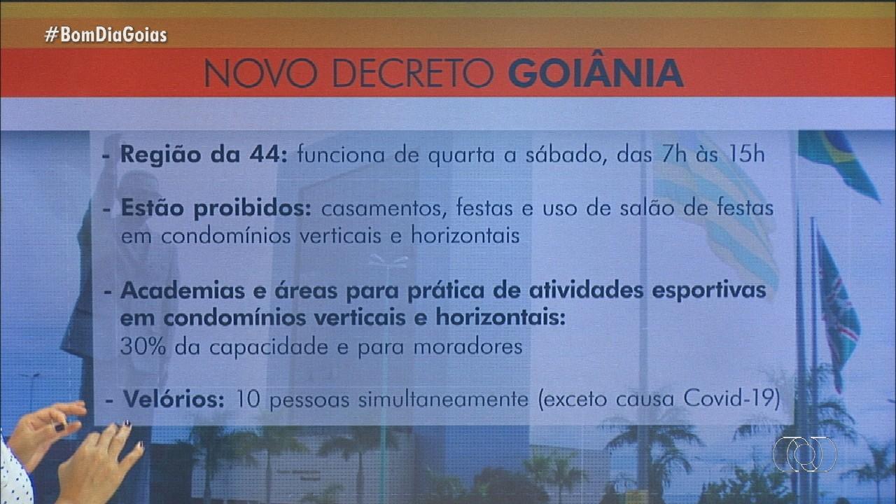 Novo decreto começa a valer em Goiânia com restrições para comércio; entenda