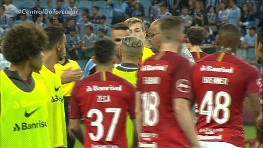 """""""Homens Gre-Nal"""", Luan e D'Alessandro devem ser opções no banco em decisão do Gauchão"""