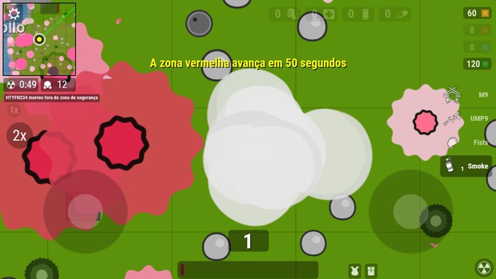 Use a granada de fumaça para se esconder dos inimigos — Foto: Reprodução/Cleiton Madruga