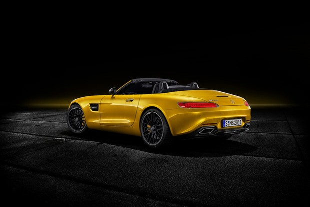 Mercedes-AMG GT S (Foto: divulgação)