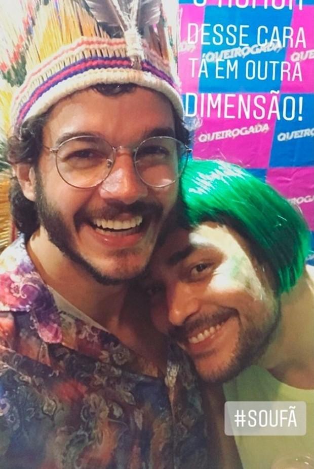 Tulio Gadelha e Eduardon Sterblitch (Foto: Reprodução/Instagram)