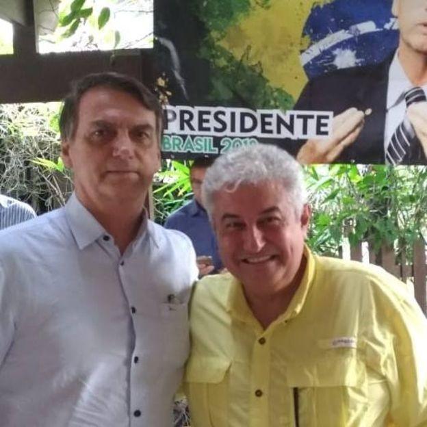 Marcos Pontes é cotado para o Ministério da Ciência (Foto: Reprodução Facebook via BBC News)