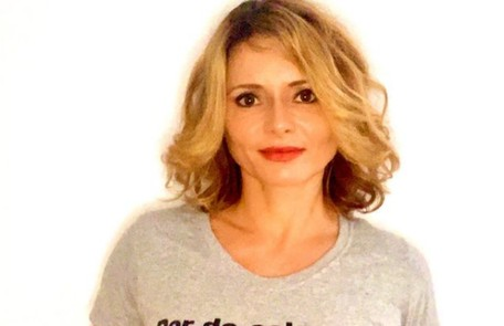 Rita Guedes contraiu a doença ao se descuidar saindo com uma amiga para um café Reprodução