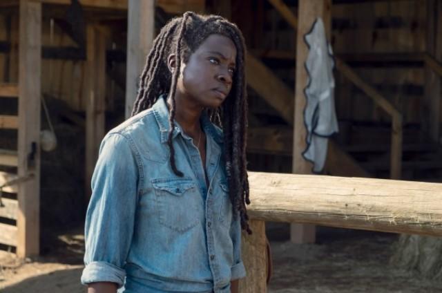 Danai Gurira em cena de 'The walking dead' (Foto: Divulgação/AMC)